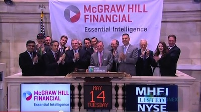 McGraw-Hill-Closing-Bell