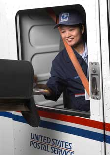USPS Letter Carrier